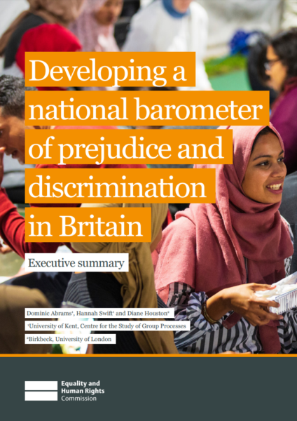Developing a national barometer of prejudice and discrimination in Britain